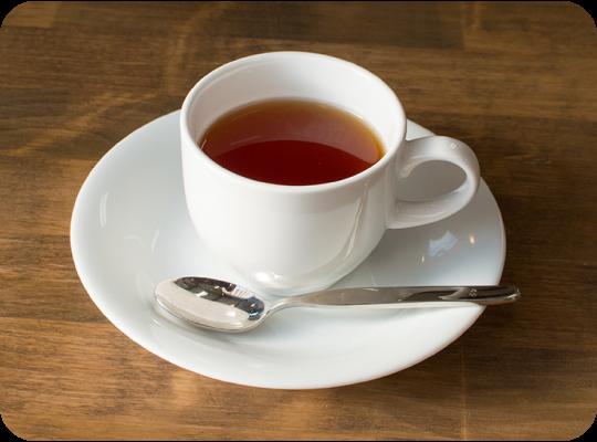 紅茶ダージリン(ホット・アイス)280円