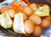 黄身は濃厚白身はサラッと地元豊明産の卵