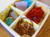 使い方いろいろキュートな手織り小物